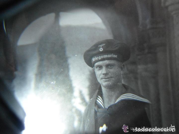 Militaria: ANTIGUA FOTO SOLDADO ALEMAN MARINA TERCER III REICH - SEGUNDA GUERRA MUNDIAL - Foto 2 - 61942720