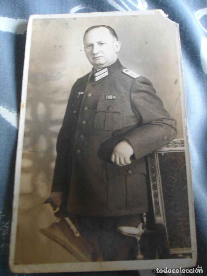 ANTIGUA FOTOGRAFIA MILITAR ALEMAN (Militar - Fotografía Militar - I Guerra Mundial)