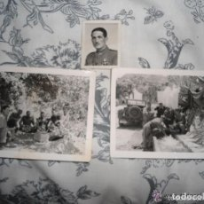 Militaria: LOTE ANTIGUAS FOTOGRAFIAS MILITARES ESPAÑOLES . Lote 62089596