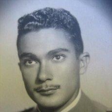 Militaria: FOTOGRAFÍA CADETE ACADEMIA GENERAL MILITAR. AGM ZARAGOZA 1948. Lote 62188364