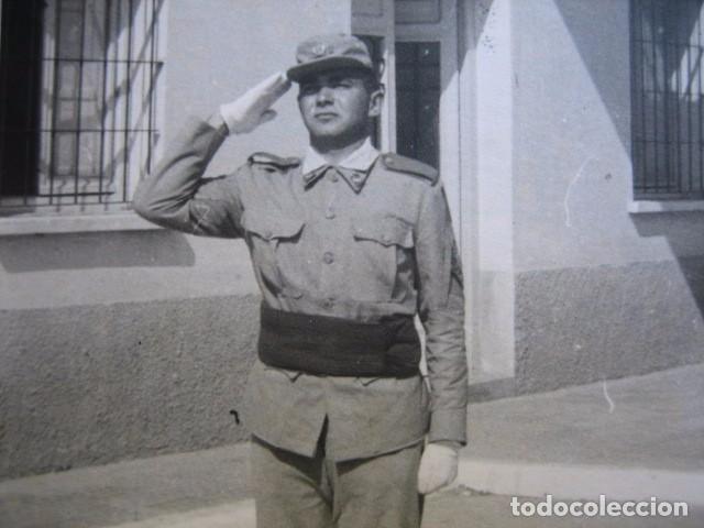 FOTOGRAFÍA SOLDADO REGULARES. (Militar - Fotografía Militar - Otros)