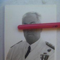 Militaria: FOTO GENERAL CUESTA MONEREO, MEDALLA MILITAR INDIVIDUAL, AVANCE ESCALA Y MEDALLA DE ORO DE SEVILLA. Lote 62274312