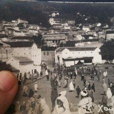 Militaria: FOTOGRAFÍA PLAZA PRINCIPAL DE XAUEN ENERO 1923 GUERRA DE ÁFRICA. Lote 62277919