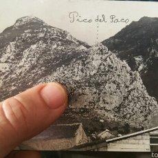 Militaria: FOTOGRAFÍA POSTAL DEL PICO DEL PACO XAUEN ENERO DE 1923 GUERRA ÁFRICA. Lote 62278186