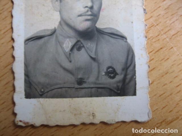 Militaria: Fotografía soldado automovilismo del ejército español. Conductor 1945 - Foto 4 - 62602380