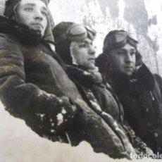 Militaria: FOTOGRAFÍA PILOTOS LUFTWAFFE. ESCUELA DE VUELO WIENER NEUSTADT AUSTRIA. Lote 62603920