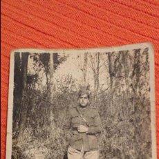Militaria: ANTIGUA FOTOGRAFIA.ANTONIO CEREZO ALBACETE? MUERTO EN 1936 FRENTE DE MADRID.GUERRA CIVIL.ZARAGOZA.. Lote 62707360