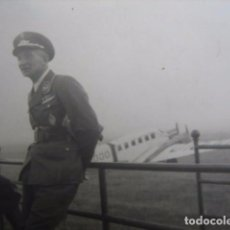 Militaria: FOTOGRAFÍA PILOTO INSTRUCTOR LUFTWAFFE. SPANGE BOMBARDERO JUNKERS-52. Lote 62870752