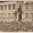 Militaria: FG002 LOTE DE 2 FOTOGRAFÍAS DEL NACIMIENTO Y BAUTIZO DE VÍCTOR MANUEL DE SABOYA - 1937. Lote 43747391