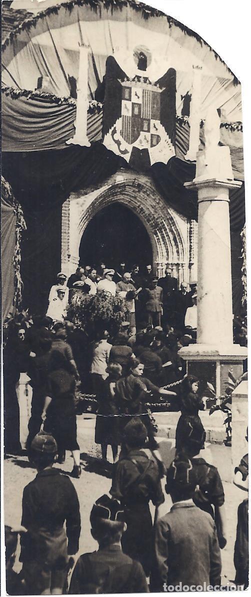 FG017 GUERRA CIVIL - HOMENAJE EN MONTEMOLÍN A LOS FALLECIDOS EN EL 'BALEARES' - ABC - 1938 (Militar - Fotografía Militar - Guerra Civil Española)