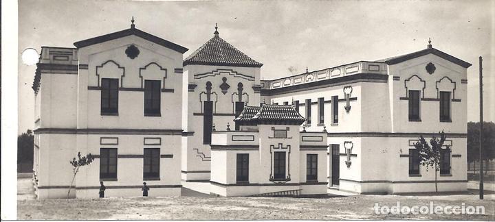 FG039 GUERRA CIVIL - VISTA DEL GRUPO ESCOLAR PRIMO DE RIVERA EN SANLÚCAR LA MAYOR (SEVILLA) - 1937 (Militar - Fotografía Militar - Guerra Civil Española)
