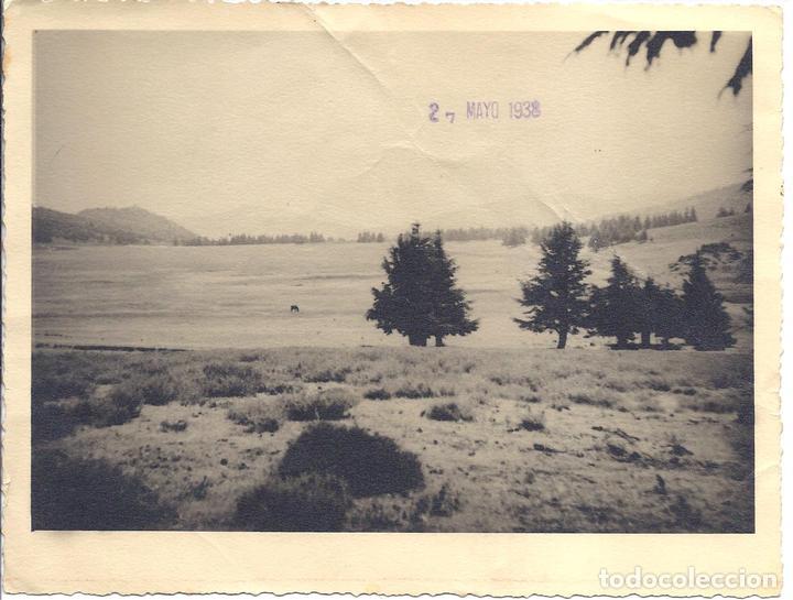 FG041 GUERRA CIVIL - VISTA DEL LLANO AMARILLO DE LA KABILA DE KETAMA - MAYO DE 1938 (Militar - Fotografía Militar - Guerra Civil Española)