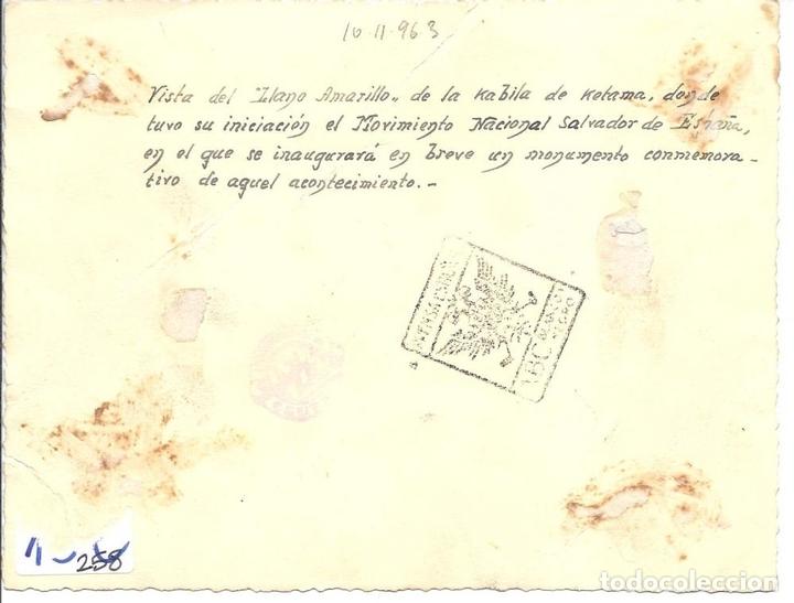 Militaria: FG041 GUERRA CIVIL - VISTA DEL LLANO AMARILLO DE LA KABILA DE KETAMA - MAYO DE 1938 - Foto 2 - 43769419