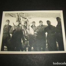 Militaria: AGUILAR DE CAMPOO PALENCIA SOLDADOS LEGION CONDOR GUERRA CIVIL FOTOGRAFIA POR SOLDADO LEGION CONDOR . Lote 64842415