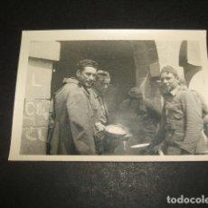 Militaria: AGUILAR DE CAMPOO PALENCIA SOLDADOS NACIONALES GUERRA CIVIL FOTOGRAFIA POR SOLDADO LEGION CONDOR . Lote 64842723