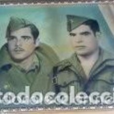 Militaria: GRAN FOTOGRAFIA MILITAR ENMARCADA ANTIGUA. Lote 65763410