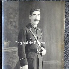 Militaria: (JX-161169) FOTOGRAFÍA DE CAPITÁN DE INFANTERÍA , MEDALLA DE MARRUECOS , ÉPOCA ALFONSINA .. Lote 66088950