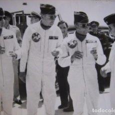 Militaria: FOTOGRAFÍA PILOTOS DEL EJÉRCITO NORTEAMERICANO. USAF GETAFE 1961. Lote 66222922
