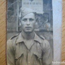 Militaria: FOTOGRAFÍA SOLDADO SANIDAD MILITAR DEL EJÉRCITO NACIONAL. GUERRA CIVIL. Lote 66271294