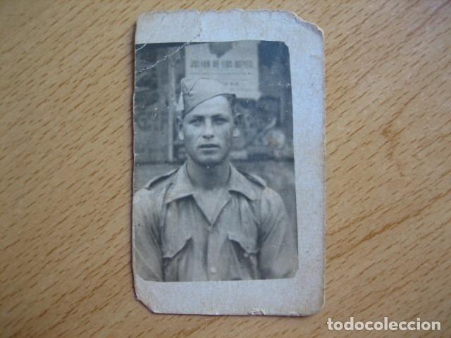 Militaria: Fotografía soldado Sanidad Militar del ejército nacional. Guerra Civil - Foto 2 - 66271294
