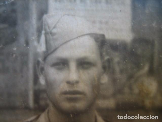 Militaria: Fotografía soldado Sanidad Militar del ejército nacional. Guerra Civil - Foto 3 - 66271294