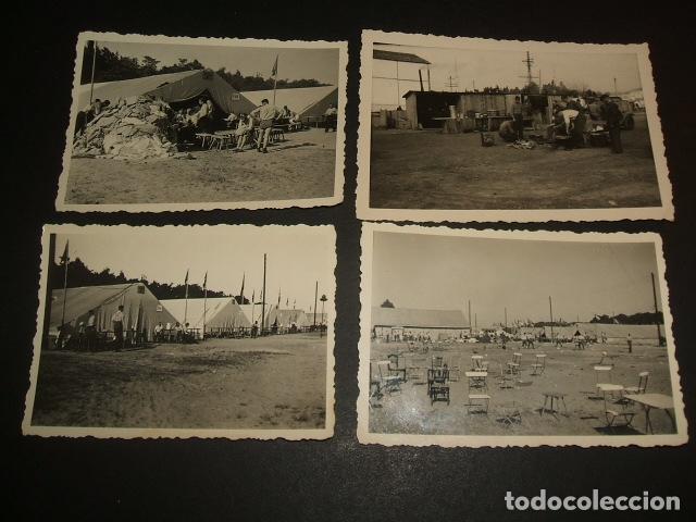 SEVILLA 1939 AERODROMO DE TABLADA GUERRA CIVIL LEGION CONDOR CONJUNTO 23 FOTOGRAFIAS (Militar - Fotografía Militar - Guerra Civil Española)