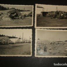 Militaria: SEVILLA 1939 AERODROMO DE TABLADA GUERRA CIVIL LEGION CONDOR CONJUNTO 23 FOTOGRAFIAS. Lote 66772210
