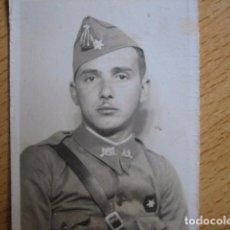 Militaria: FOTOGRAFÍA ALFÉREZ PROVISIONAL DEL EJÉRCITO NACIONAL. GUERRA CIVIL. Lote 66835246