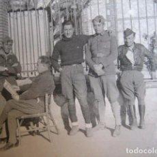 Militaria: FOTOGRAFÍA SOLDADOS DEL EJÉRCITO NACIONAL. GUERRA CIVIL. Lote 66924382