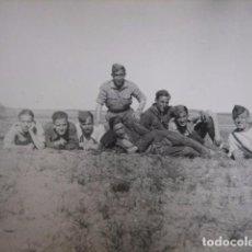 Militaria: FOTOGRAFÍA SOLDADOS DEL EJÉRCITO NACIONAL. FALANGISTA. Lote 66924866