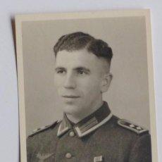 Militaria: POLICIA. FOTOGRAFÍA ORIGINAL DE SOLDADO ALEMÁN DE LA SEGUNDA GUERRA MUNDIAL.1939 -1945. Lote 66925546
