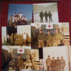 Militaria: LOTE DE FOTOS DE SOLADOS DEL EJERCITO DE TIERRA.. Lote 67287357