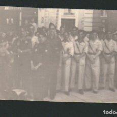 Militaria: CÁDIZ.FALANGISTAS EN FORMACIÓN.GUERRA CIVIL ESPAÑOLA.POSTÁL FOTOGRÁFICA.. Lote 67334601