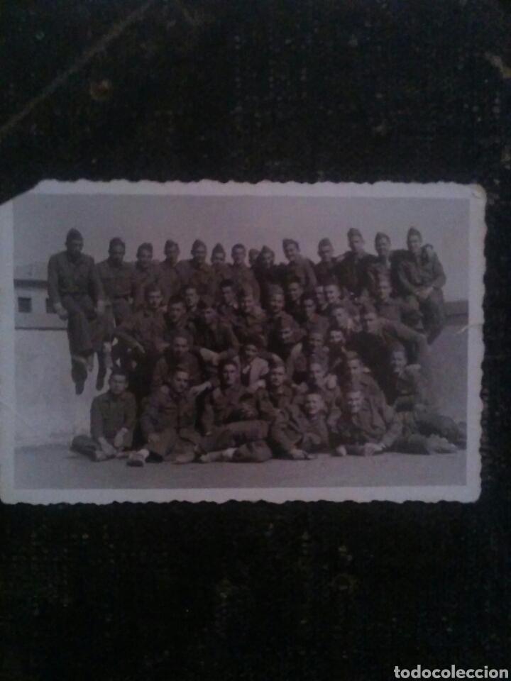 FOTOGRAFÍA DE GRUPO DE MILITARES AÑO1952 (Militar - Fotografía Militar - Otros)