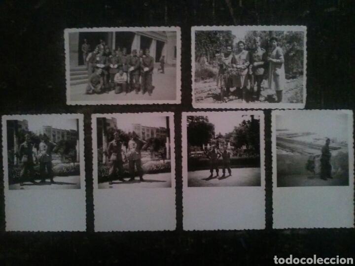 FOTOGRAFIA MILITAR DE SOLDADOS AÑO 1957 (Militar - Fotografía Militar - Otros)