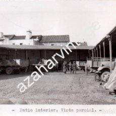 Militaria: MERIDA, GUERRA CIVIL, PARQUE AUTOMOVILISMO EJERCITO DEL SUR,178X118MM. Lote 67391849