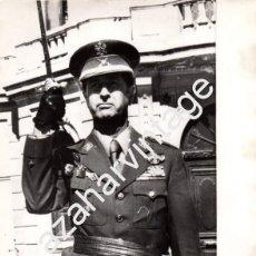Militaria: ANTIGUA FOTOGRAFIA DEL GENERAL DE BRIGADA LUIS PINILLA SOLIVERES,DIRECTOR ACADEMIA MILITAR,240X180MM. Lote 67608637