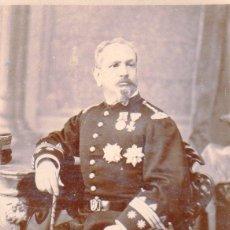 Militaria: TENIENTE CORONEL DE INFANTERÍA - SIGLO XIX 1883. Lote 67771589
