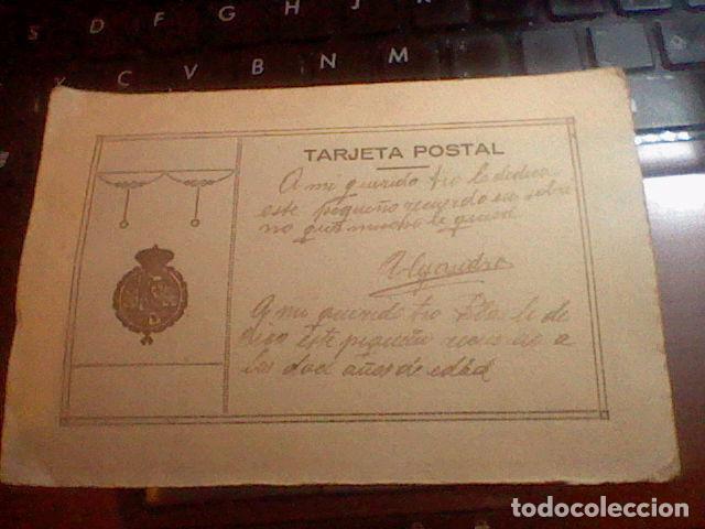 Militaria: MUCHACHO MILITAR A ARACIL ZARAGOZA COSO ESELO POSTAL ESCRITA - Foto 2 - 67949505
