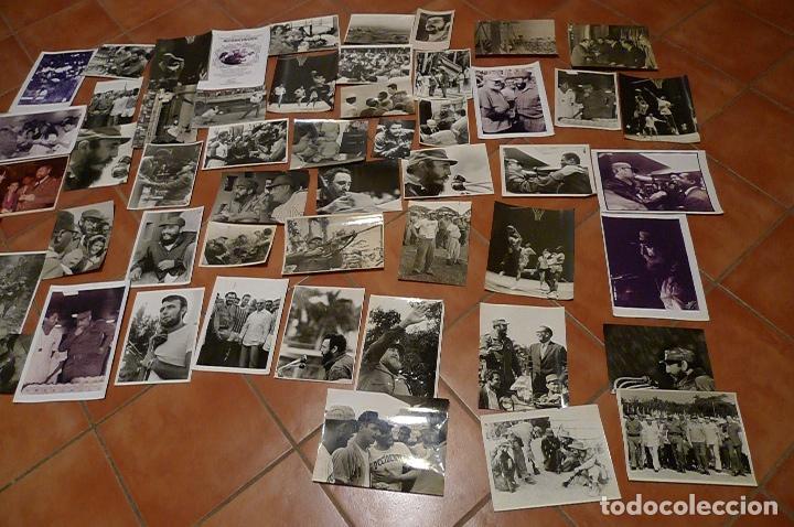 Militaria: Lote 55+ fotografias del fotografo Jose Oller Oller de Fidel, Cuba, y el Che, hacer oferta - Foto 2 - 67979981