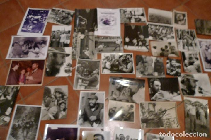 Militaria: Lote 55+ fotografias del fotografo Jose Oller Oller de Fidel, Cuba, y el Che, hacer oferta - Foto 3 - 67979981