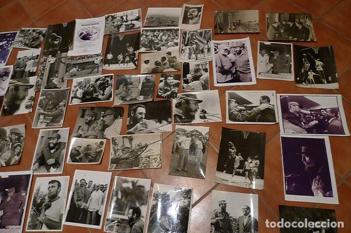 Militaria: Lote 55+ fotografias del fotografo Jose Oller Oller de Fidel, Cuba, y el Che, hacer oferta - Foto 4 - 67979981