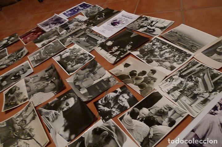 Militaria: Lote 55+ fotografias del fotografo Jose Oller Oller de Fidel, Cuba, y el Che, hacer oferta - Foto 8 - 67979981