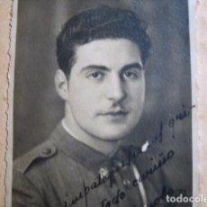Militaria: FOTOGRAFÍA CARABINERO. PAMPLONA 6-1939. Lote 68023585