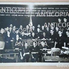 Militaria: MAGNIFICA FOTOGRAFIA ANTIGUA DE LA JEFATURA DEL FRENTE DE JUVENTUDES DE MADRID 1936 FALANGE. Lote 68414697