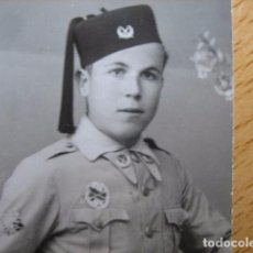 Militaria: FOTOGRAFÍA SOLDADO REGULARES. ANTITANQUES. Lote 68544953