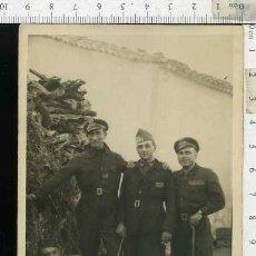 Militaria: FOTOGRAFÍA MILITARES DE INTENDENCIA CONDUCTORES. 1928. Lote 68589513