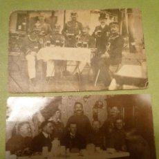 Militaria: DOS FOTOS ALEMANIA. 1 GUERRA MUNDIAL. OFICIALES CON PICKELHAUBE. Lote 68594153