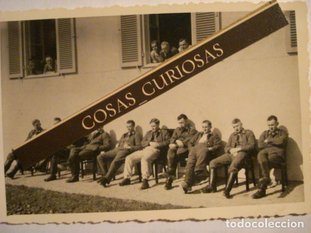 LEGION CONDOR FOTOGRAFIA GUERRA CIVIL ESPAÑA - ZARAGOZA ? MIRA OTRAS EN VENTA (Militar - Fotografía Militar - Guerra Civil Española)