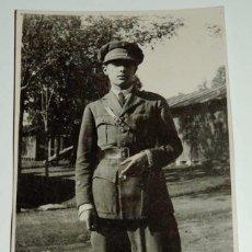 Militaria: FOTOGRAFIA DE OFICIAL DE CABALLERIA, EPOCA ALFONSO XIII, TAMAÑO POSTAL.. Lote 68808913